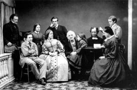 The Gibbs Family at Tyntesfield c.1862 National Trust