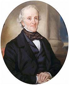 William Gibbs, by Eugene Deveria, 1850 Tyntesfiled, NT