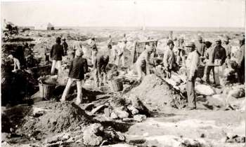 Guano collection at Shark Bay, western Australia http://museum.wa.gov.au/explore/broadhurst/trade-and-mining