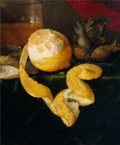 Detail from Table by Jan Davidszoon de Heem, Prado