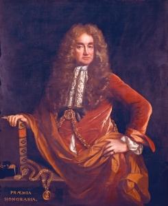 Elias Ashmole, by John Riley, c.1681-2, Ashmolean Museum