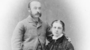 Sir Charles and his wife Gertrude, c.1900 National Trust