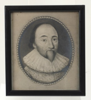 Photograph, Henry Lyte (1529-1607) by unknown. Henry Lyte of Lytes Cary 1572, from miniature in private possession.Lytes Cary Manor © National Trust / Simon Harris