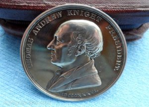 "A solid silver ""Horticultural Society of London, Knightian Medal 1836."" http://www.antiques-atlas.com"