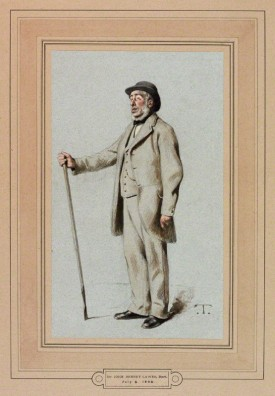 by ThÈobald Chartran ('T'), watercolour, published in Vanity Fair 8 July 1882