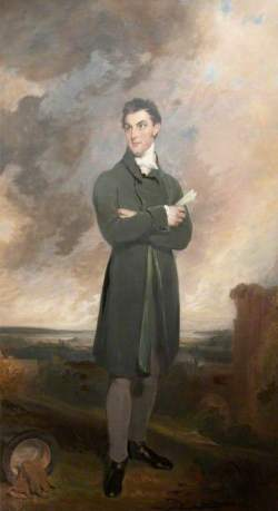 Sir Thomas Dyke Acland (1787–1871), 10th Bt, MP by William Owen National Trust Date painted: 1818NT; (c) Killerton; Supplied by The Public Catalogue Foundation