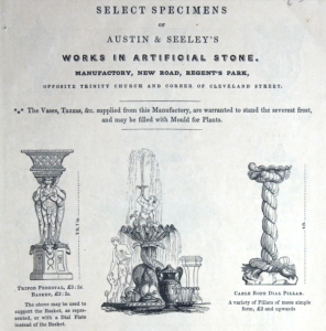 Select specimens of Austin & Seeley's works in artificial stone : manufactory, New Road, Regent's Park ... by Austin & Seeley Published [1841]