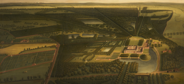 A Bird's-eye View of Dunham Massey from the North John Harris II (1715-1755)