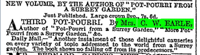 from The Times, 15th December 1900