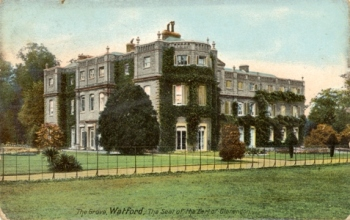 The Grove, the Earl of Clarendon's country house near Watford