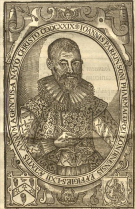 John Parkinson from Paradisus in Sole, 1629