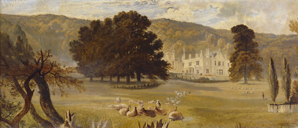 A view showing the house before John Norton's remodelling ©NTPL/John Hammond