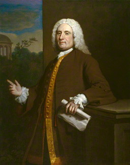 Thomas Ripley by Joseph Highmore, oil on canvas, 1746, NPG