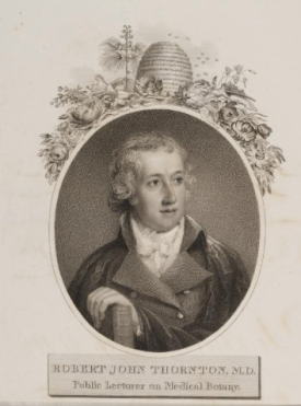 Robert Thornton, by John Russell, 'Portarit Pianter to the King'
