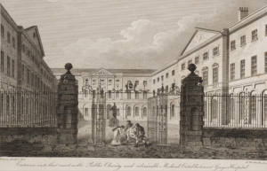 "Guys Hospital by Bartolozzi R.A""Engraver to the King"""
