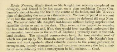 The Gardener's Magazine, February 1830