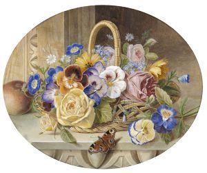 A basket of flowers https://www.dorotheum.com
