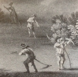 detail froman engraving of West Wycome by William Woollett, 1757