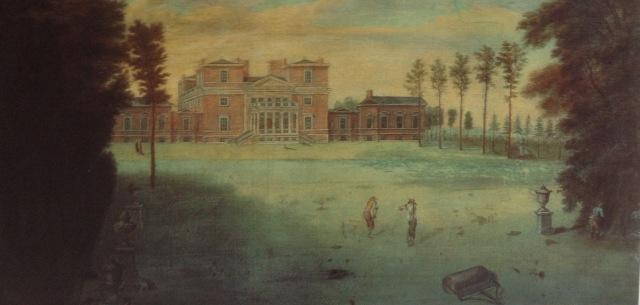 Tottenham Park, by Pieter Rysbrack c.1737 taken from John Harris, The Artist & the Counyry HOuse, 1995
