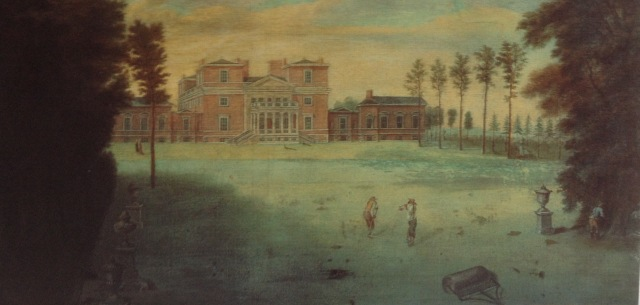 Tottenham Park, by Pieter Rysbrack c.1737 taken from John Harris, The Artist & the Counyry HOuse, 1995
