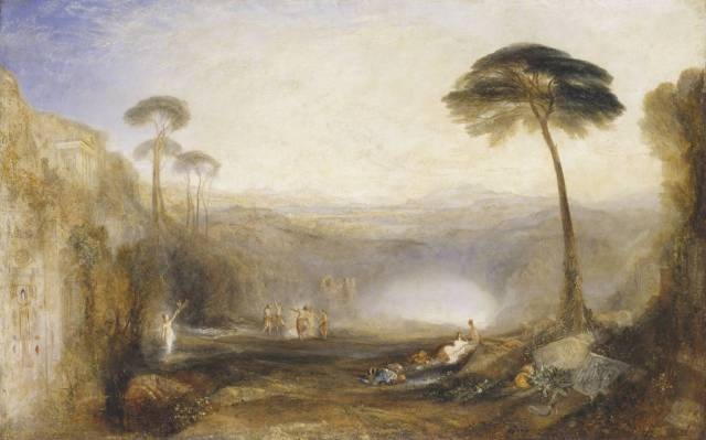 The Golden Bough exhibited 1834 Joseph Mallord William Turner 1775-1851 Presented by Robert Vernon 1847 http://www.tate.org.uk/art/work/N00371