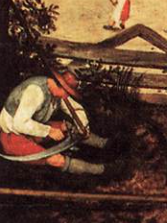 detail from Breughel's Te Haymakers