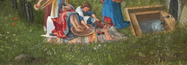 detail from Susannah and the elders, Albrecht Altdorfer, 1528, Alte Pinakoteck, Munich