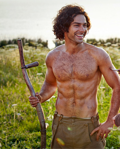 Aidan Turner http://www.telegraph.co.uk/culture/tvandradio/11925552/Poldark-writers-not-duty-bound-to-feature-shirtless-Aidan-Turner-in-second-series.html