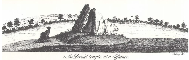 from Abury: A Temple of the British Druids, by William Stukeley, 1743