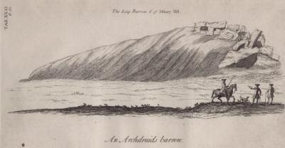 Long Barrow from Stukeley