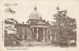 Postcard showing the Mausoleum