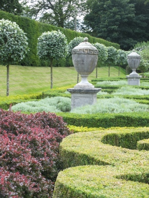 The Parterre designed by James Russell, c.1950 David Marsh, July 2015