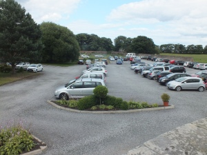 The kitcjen garden car park, David Marsh July 2015