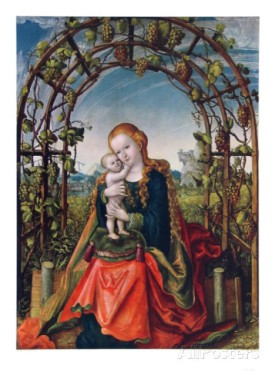 The Madonna of the Arbour, Lucas Cranach the Elder, Stift Melk