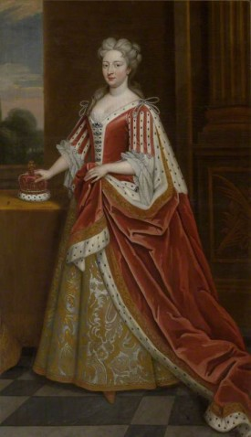 Queen Caroline of Brandenburg Ansbach (1683–1737), as Princess of Wales by Godfrey Kneller(c) National Trust, Oxburgh Hall; Supplied by The Public Catalogue Foundation
