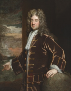 Admiral George Delaval (1660-1723) by Godfrey Kneller, CMS: 1276507 painting at Seaton Delaval Hall, Northumberland