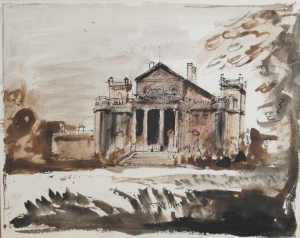 South front, John Piper, 1941 http://www.abbottandholder-thelist.co.uk/piper-archive/