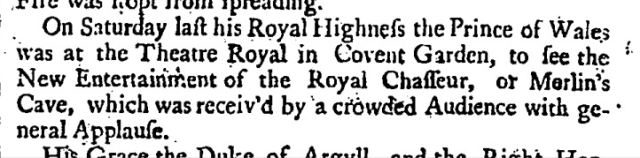London Daily Post and General Advertiser (London, England), Monday, January 26, 1736