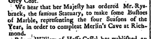 Read's Weekly Journal Or British Gazetteer (London, England), Saturday, July 3, 1736; Issue 617.