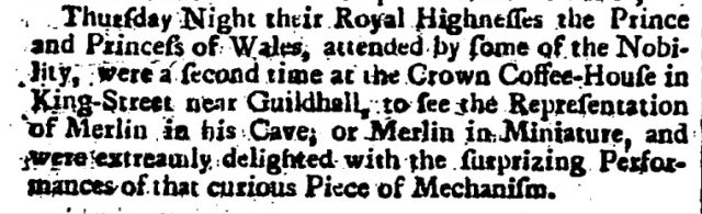 London Evening Post (London, England), June 14, 1739 - June 16, 1739