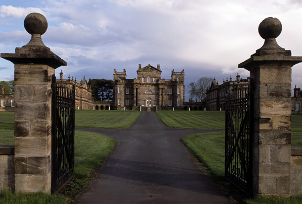 The north front Seaton Delaval Hall. Not Used CL 06/11/2003