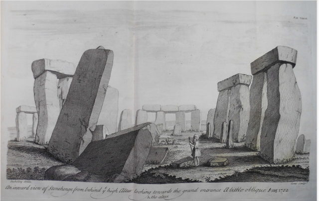from Stonehenge a temple restor'd to the British druids / by William Stukeley , 1740