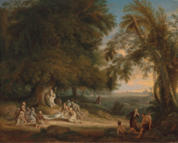 The Druids Collecting Mistletoe by Jacob Thompson, 1832 © Penrith and Eden Museum