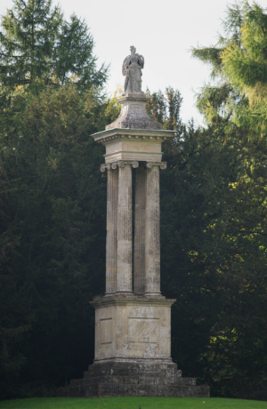 Queen carolin'es monument at Stowe