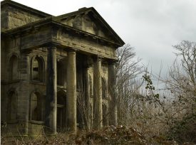 The exterior of the mausoleum at Seaton Delaval Hall. It was begun in 1775 by Alexander Bell. Not Used CL 07/04/2010