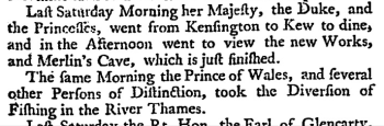 Daily Gazetteer (London Edition) (London, England), Monday, July 21, 1735; Issue 19