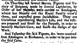 Daily Journal (London, England), Saturday, August 16, 1735;