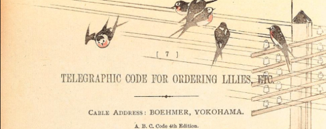 deatil from a page of Boehmer's Catalogue 1899