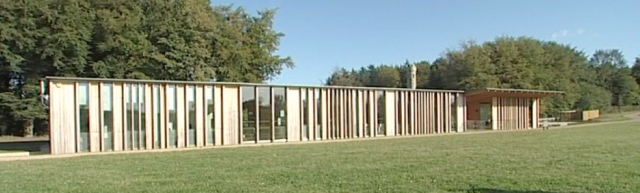 The new vistors centre