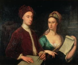 Rt. Hon. Richard Boyle and Lady Dorothy Savile, William Aikman, 1723, Harris Museum and Art Gallery, Preston